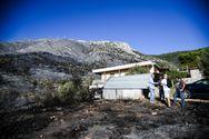 Το σχέδιο εκκένωσης για τη φωτιά στον Υμηττό