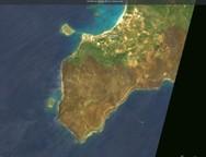 Δορυφόρος αποκαλύπτει την καταστροφή που προκάλεσε η πυρκαγιά στην Ελαφόνησο