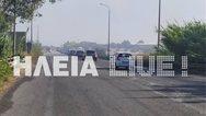 Ηλεία: Ξέσπασε πυρκαγιά στη Νέα Μανωλάδα