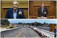 Βαρεμένος: 'Είναι η 2η φορά που η Ν.Δ. πάει να ακυρώσει την υλοποίηση του δρόμου Πάτρα - Πύργος'