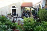 Πάτρα: Πλήθος κόσμου και φέτος στην Ιερά Μονή Παναγίας Γηροκομείου
