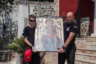 Επέστρεψε η εικόνα της Παναγίας στην Ιερά Μονή Μακρυμάλλης