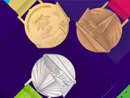 Δύο σύμβολα της Πάτρας, στα μετάλλια των Μεσογειακών Αγώνων