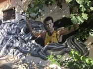 Ένα εντυπωσιακό γκράφιτι για τον Νίκο Γκάλη!