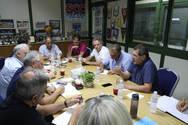 Πάτρα - Σύσκεψη Οργανωτικής Επιτροπής, Δήμου Πατρέων και Αστυνομίας για τους Μεσογειακούς Αγώνες
