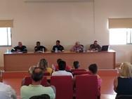 Αχαΐα: Συνεδρίασε το τοπικό συντονιστικό όργανο Πολιτικής Προστασίας στην Ωλενία