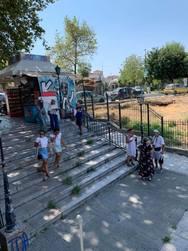 Ομάδα τουριστών βρέθηκε στην Πάτρα - Τι είδε και πώς έφυγε (φωτο)