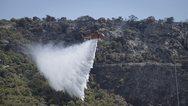 Αχαΐα: Βελτιώθηκε η εικόνα της φωτιάς στο Ριόλο