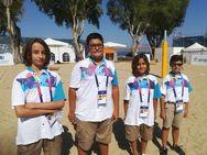 Πάτρα - Οι μικροί εθελοντές, κλέβουν την παράσταση στους II Παράκτιους αγώνες