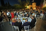 Το επίσημο δείπνο των ΙΙ Μεσογειακών Παράκτιων Αγώνων, έγινε στην Achaia Clauss!