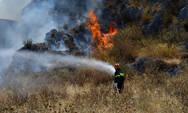 Yψηλός κίνδυνος πυρκαγιάς την Τρίτη σε όλη την Δυτική Ελλάδα