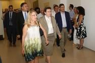 Η Υπουργός Πολιτισμού εγκαινίασε την Έκθεση 'Η Πάτρα της Μεσογείου'