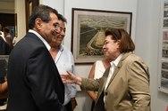 Πάτρα: O K. Πελετίδης στα εγκαίνια της έκθεσης για τους Ολυμπιακούς Αγώνες (φωτο)