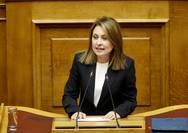 Χρ. Αλεξοπούλου: Συγχαρητήρια για τις πρωτιές, διόρθωση των στρεβλώσεων στο εκπαιδευτικό σύστημα