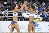 Βeach Volleyball -  Γιορτή με συρτάκι στην παραλία της Πάτρας!