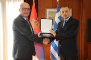Συνάντηση Αλκιβιάδη Στεφανή με τον Υφυπουργό Άμυνας της Δημοκρατίας της Σερβίας Milan Rankovic (φωτο)