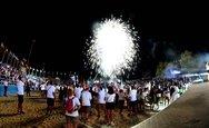Οι πατρινοί αποχαιρέτησαν τους Παράκτιους Μεσογειακούς Αγώνες με μια μεγάλη γιορτή (φωτο)