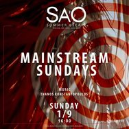 Mainstream Sundays at Sao Beach Bar