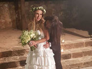 Η Ευρυδίκη παντρεύτηκε με τον αγαπημένο της Μπομπ Κατσιώνη (φωτο)