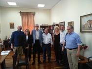 Αιγιάλεια: Συνάντηση Δημάρχου με τους βουλευτές του νομού