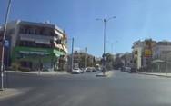 Οδηγός μηχανής περνάει με κόκκινο και ζητάει τα ρέστα στο Ηράκλειο (video)