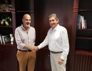 Πάτρα: O Γρηγόρης Αλεξόπουλος συναντήθηκε με τον Χαράλαμπο Μπονάνο