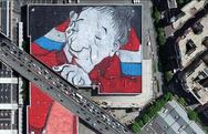 Το μεγαλύτερο street art στον κόσμο αφιερωμένο στην κλιματική αλλαγή