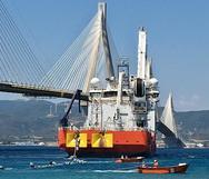 Το πλοίο 'Aριάδνη' βυθίζει το πρώτο υποβρύχιο καλώδιο 400 kV στο Ρίο - Αντίρριο (video)