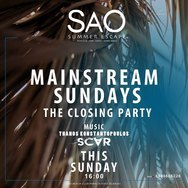 Mainstream Sundays the Closing Party at Sao Beach Bar