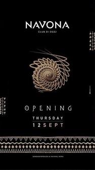 Opening at Navona