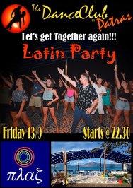 Latin Party στην Πλαζ
