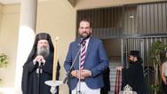 Ο Νεκτάριος Φαρμάκης σε Αγιασμούς σχολείων της Πάτρας (φωτο)