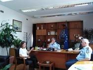 Η Χριστίνα Αλεξοπούλου επισκέφθηκε τη Γενική Περιφερειακή Αστυνομική Διεύθυνση Δυτικής Ελλάδας