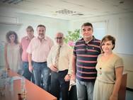 Συνάντηση του Παναγιώτη Σακελλαρόπουλου με το Δ.Σ. του Συλλόγου Υπαλλήλων ΠΕ Αχαΐας