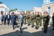 Ο Υφυπουργός Εθνικής Άμυνας Αλκιβιάδης Στεφανής στη Ρόδο (φωτο)