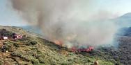 Χαρδαλιάς για φωτιά στη Ζάκυνθο: Η πρώτη εκτίμηση είναι ότι κάηκαν 10.000 στρέμματα