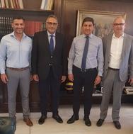 Ο Λευτέρης Αυγενάκης συναντήθηκε με τους διοικητικούς ηγέτες της ΕΛΟΤ