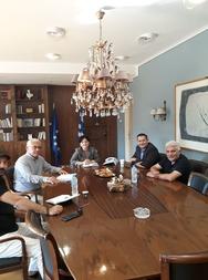 Συναντήσεις του Αντιπεριφερειάρχη Αγροτικής Ανάπτυξης Θ. Βασιλόπουλου στην Αιτωλοακαρνανία