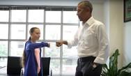 Ομπάμα σε Τούνμπεργκ: «Εσύ και εγώ, είμαστε ομάδα»