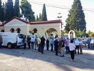 Πάτρα: Είπαν το τελευταίο 'αντίο' στον επιχειρηματία Νίκο Λάγιο