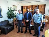 Επίσκεψη Φαρμάκη στη ΓΕ.Π.Α.Δ. Δυτικής Ελλάδας και στη Διεύθυνση Αστυνομίας Αχαΐας