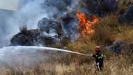 Αχαΐα: Ξέσπασε φωτιά στο Δήμο Ερυμάνθου