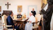 Ιταλία: Συνάντηση Τσίπρα με τον Πάπα Φραγκίσκο στο Βατικανό