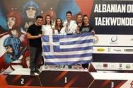 3 μετάλλια στις 5 συμμετοχές της απέσπασε η Δύναμη Πατρών στο Albania Open G1!
