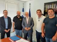 Επαφές του Παναγιώτη Σακελλαρόπουλου ενόψει του 3ου Πανελλήνιου Συνεδρίου Επαγγελματικής Μελισσοκομείας
