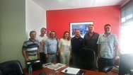 Πάτρα: Συνάντηση Δ.Σ. Συλλόγου Δασκάλων & Νηπιαγωγών με τον Αντιδήμαρχο Παιδείας Tάκη Πετρόπουλο
