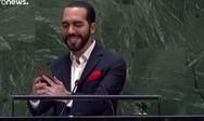 Ο πρόεδρος του Ελ Σαλβαδόρ, «έκλεψε τις εντυπώσεις» στη σύνοδο κορυφής του ΟΗΕ (video)