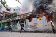 Χάος στην Αϊτή - Χιλιάδες άνθρωποι βγήκαν στους δρόμους κατά του προέδρου (φωτο+video)