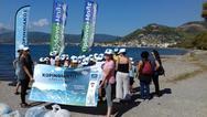 Δυτ. Ελλάδα: Ολοκληρώθηκε η 3η δράση καταγραφής θαλάσσιων απορριμμάτων στη Ναύπακτο