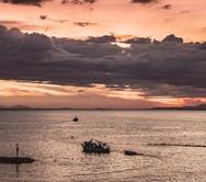 Όταν ο ήλιος και τα σύννεφα παίζουν… κυνηγητό στην Πάτρα (pics)